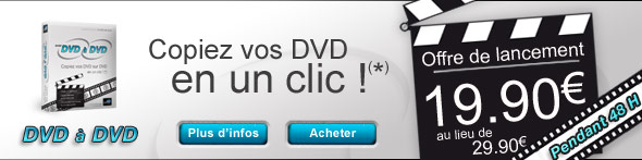 Offre de lancement : BVRP DVD à DVD À 19.90 sur BVRP.FR avec votre code promo DVDADVD